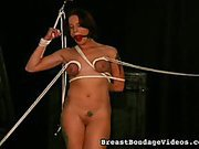Self Breast Bondage