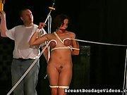 Self Breast Bondage