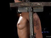 Penthouse Pet Skin Diamond Squirting in Brutal Bondage and