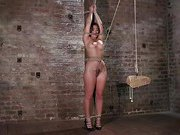Dani Daniels in Brutal Bondage, Tormented, and Made to Cum