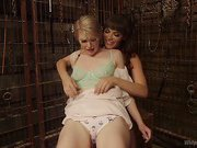 Ella Nova punished in Dana DeArmond's dungeon!