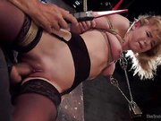 Anal Slut Trained in Hard Bondage: Alina West Day Two