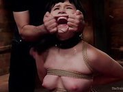 Yhivi's Submission to Hardcore Sex in Heavy Bondage, Day Two