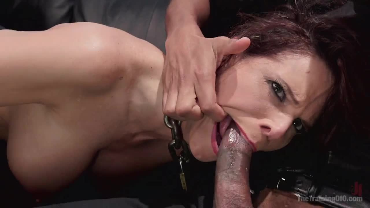 Anal trainig for the milf