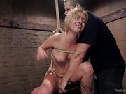 Hot Blondes Must Earn Their Orgasms