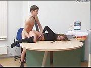 Secretary gets forced fucked