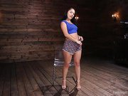 Kristina Fucking Rose is Machine Fucked in the Ass
