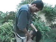 Guy finds himself a girl and rapes her