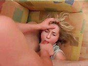 Good blonde raped hard