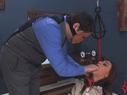 Carmen Capri gets rough anal therapy
