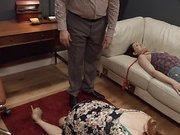 Penny Pax tied up for anal sex