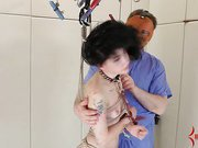 Emo slave Charlotte Sartre anally tortured and assfucked