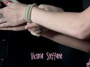 Victoria has only done a little bondage in her life