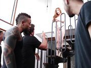 Lauren Phillips Takes Six Dicks in Brutal Gangbang