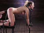 Lily LaBeau is Brutally Tormented in Grueling Bondage - Kink