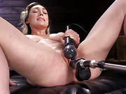 Lily LaBeau is Power Fucked with the Machines - Kink