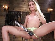 Petite Slut Lilly Lit Gets Machine Fucked in Bondage - Kink