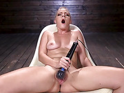 Blonde Squirting Slut Gets Fucked Out of Her Mind! - Kink