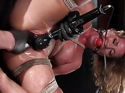 Extreme Bondage, Brutal Torment, and Squirting Orgasms