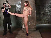 Fresh Meat in Extreme Bondage Suffering Through Torment