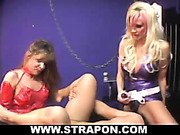 Mistress Brittany Alexandra Percy and her slave.