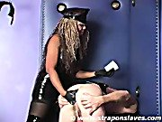 Strapon Slaves. Lady Sherrie