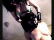A BDSM Queen Showing Some Bondage Love !!