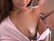 Sweet Wife Adores Playing With Huge Cock!