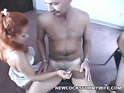 Naughty Redhead Wife Gemini And Many Cocks!