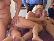 Three Cocks and Insatiable Wife Mrs S Barber!