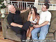 Naughty delicious Wife Whore Cheyenne Hunter Gets a New