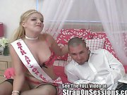 Brad finds the strap-on princess