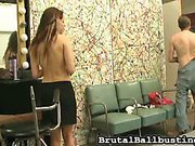 Babe abused and fucked boy