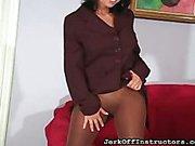 Latina hottie teased in office