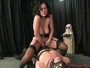 Forced sex, pussy worship and facesitting