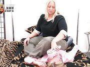 Fat mistress abused her slave