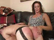 Woman spanked and abused boyfriend