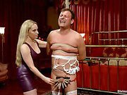 Totally abused slave and mistress