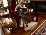 Lesbians sex with feet torture