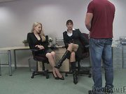 Office slave used as sextoy