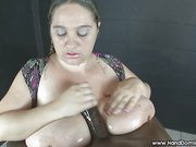 Big tits for black slave