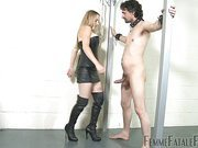 Slave made for ball busting