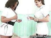 Mature femdom nurses jerk cock