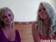 Jerking off your best friend whil you watch cuckolding