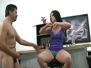 Luscious Lopez ball busting