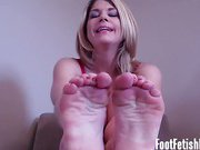 My feet make you so hard, don't they?