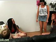 British babe give handjob