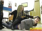 Submissive Gregor abused