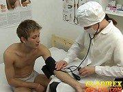 Billy on medical test