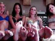 Six feet to jerk your dick off to